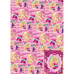 Barbie Wrapping Paper and Tags