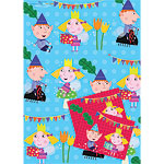 Ben & Holly Wrapping Paper & Tags