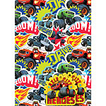 Blaze and the Monster Machines Wrapping Paper & Tags
