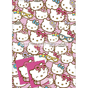 Hello Kitty Wrapping Paper Tags Party Delights