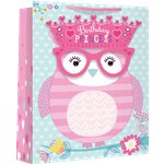 Large Girl Owl Glasses Gift Bag - 33cm