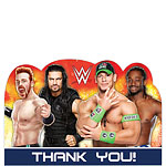 WWE Wrestling Thank You Cards and Envelopes