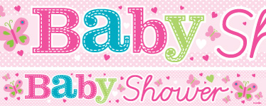 banners for baby shower