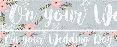 Wedding Paper Banners 1 design 1m each