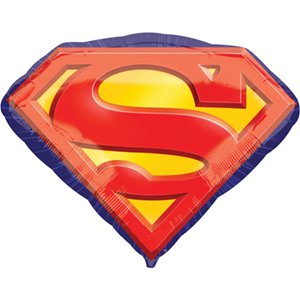 Superman Emblem SuperShape Balloon - 31'' Foil