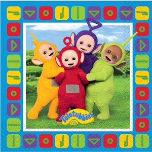 Teletubbies Napkins - 2ply Paper